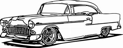 Coloring Pages Cars Printable Classic Adult Truck