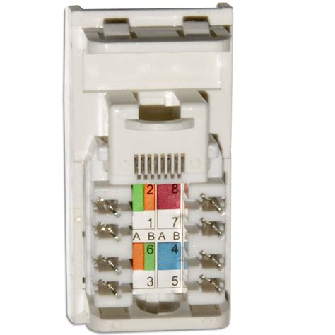 data cate rj wall grid outlet module click  media