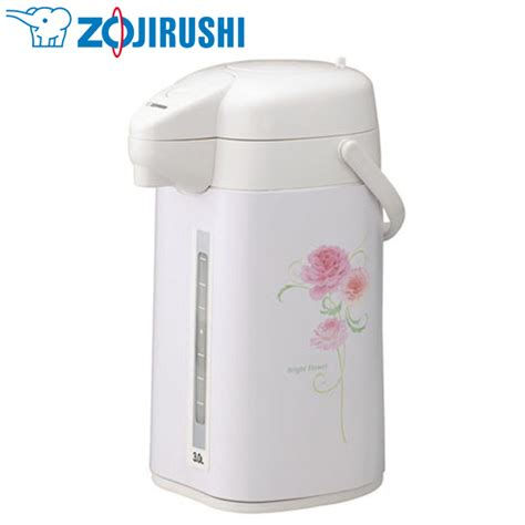 kadenrand   Rakuten Global Market: ZOJIRUSHI [elephant seal] push zojirushi hot water pot (3.0 L
