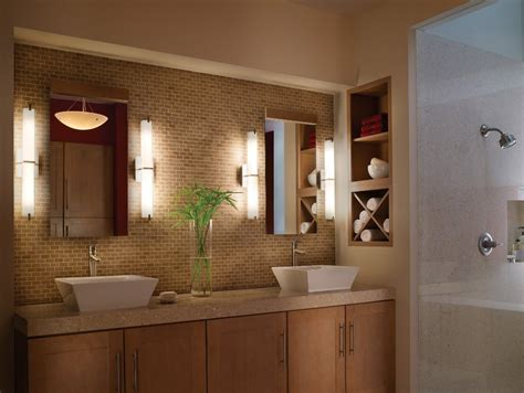 bathroom light fixtures  ideal interior  modern