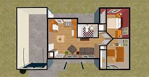 Tiny house 2 bedroom – Bedroom at Real Estate
