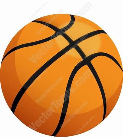 Orange Basketball Clipart Cartoon Ball Emoji Vector