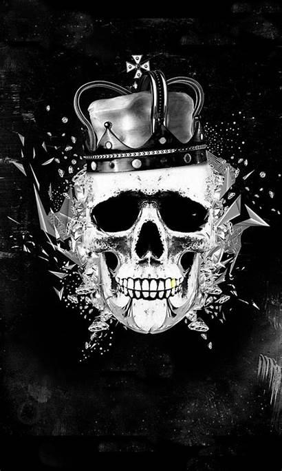 King Skull Wallpapers Kings Gangster Backgrounds Triple