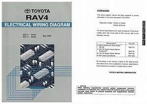 2000 2005 Rav4 Electrical Wiring Diagram Repair Manual Pdf