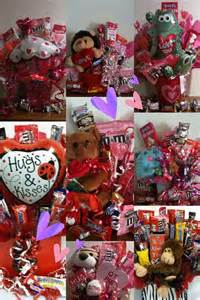 Valentine Candy Gift Basket Idea
