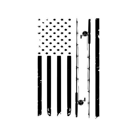 Download editable usa flag png and svg vectors with transparent background. Digi-tizers Fishing Pole American Flag Rugged (SVG Studio ...