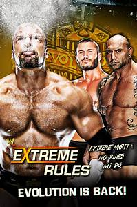 Extreme Rules Custom Poster 2014 [Evolution] [HD] by ...