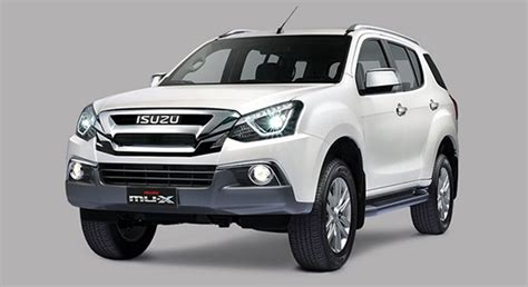 isuzu mu 2019 philippines price specs autodeal
