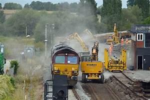 Train Light Signals Uk Railways In Worcestershire