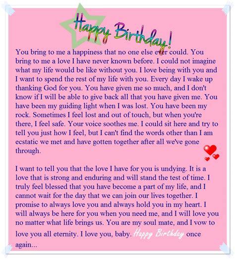 happy birthday letters a sweet happy birthday letter to my boyfriend