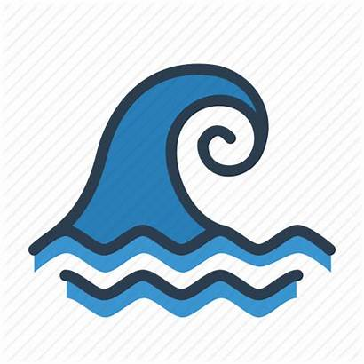 Wave Icon Tsunami Waves Clipart Clip Transparent
