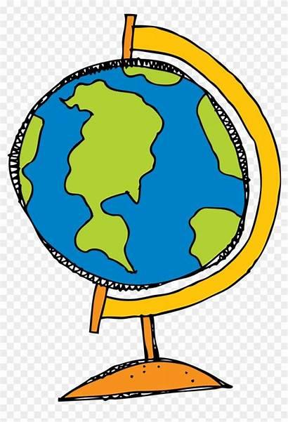 Globe Clip Clipart Drawing Transparent Cartoon Earth