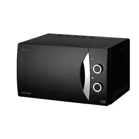 tesco direct daewoo kora manual control microwave black black microwave tesco direct tesco