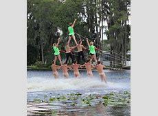 Tampa Bay Water Ski Show Team at Lake Como, Lutz