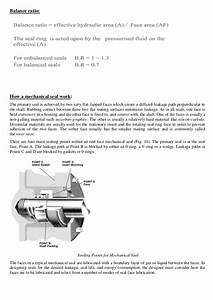 Improving The Reliability Of Mechanical Seals