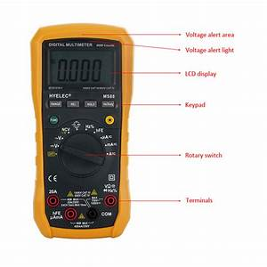Hyelec Peakmeter Ms88 Professional Multimeter