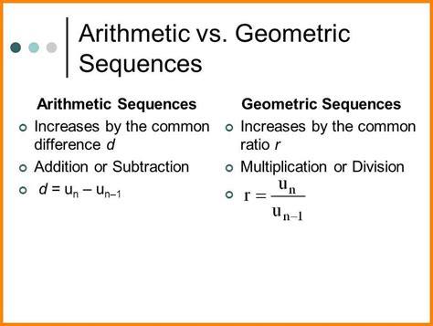 9+ Arithmetic And Geometric Sequences  Mahakumbh Melanasik