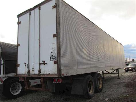 1978 Fruehauf Container  Storage Trailer For Sale