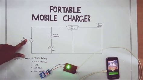 Circuit Diagram Of Mobile Charger