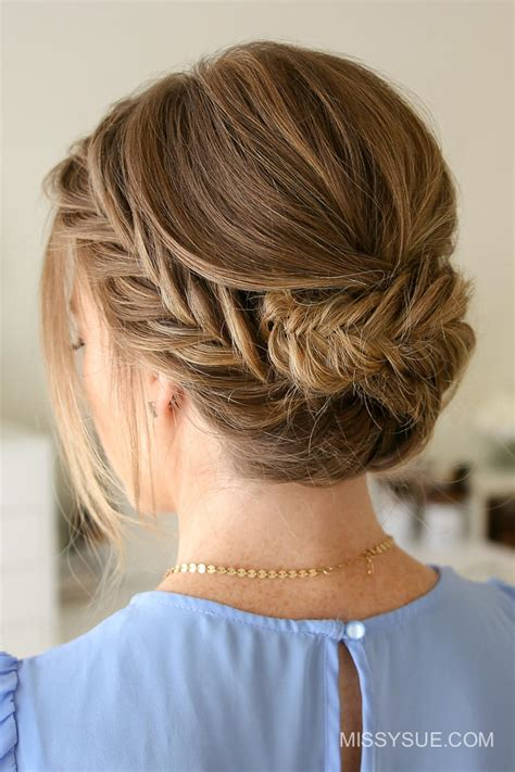 Medium Updos Hairstyles by Great Updos For Medium Length Hair Southern Living