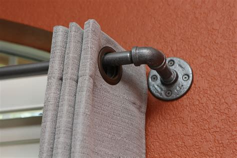 industrial curtain rod medium industrial pipe curtain rod