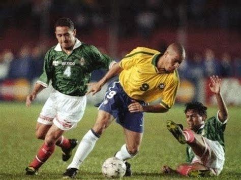 Ronaldo vs Mexico Copa America 1997   YouTube