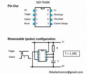thb electronics touch quiz buzzer With 555 timer pulse generator schematic