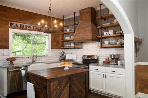 You can decorate your long kitchen the most important thing in decorate long kitchen wall is the long kitchen island. Rustic Freestanding Kitchen Island - Country - Kitchen - HGTV