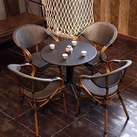 Outdoor Furniture Shop by High Quality Starbucks Outdoor Cafe Table And Rattan