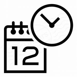 IconExperience » I-Collection » Calendar Clock Icon