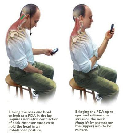 is it bad to use your phone while charging tips for texting to protect our neck spine ca clinic