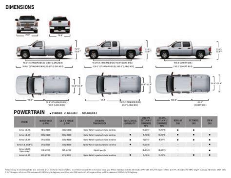 silverado truck bed dimensions car reviews