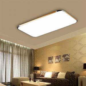 48w Led Square Ceiling Light Dimmable Flush Mount Fixture