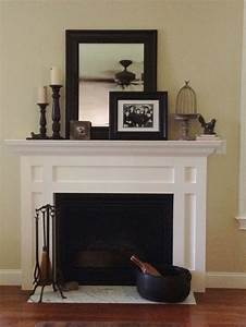 Fireplace mantels decor woodworking projects plans for Fireplace mantel decor
