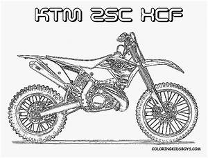 ktm 125 free coloring pages With honda 125 dirt bike