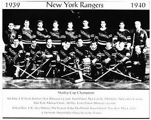 1939 1940 New York Rangers Stanley Cup Champions 8x10 Team