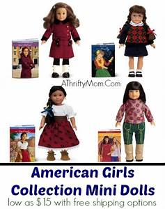 American Girl Doll Mini sets with book low as $15 with