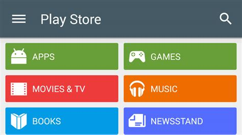 play store 5 0 with even more material design