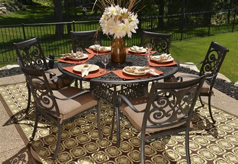 garden furniture table garden table and 6