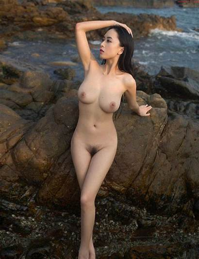 Huang Chinese Ke Christine Asian Hairy Outdoor