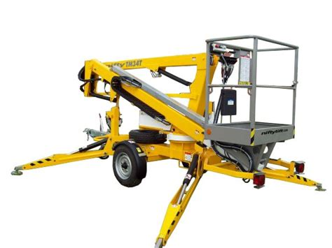 nifty towable articulating lift 34 area rental sales