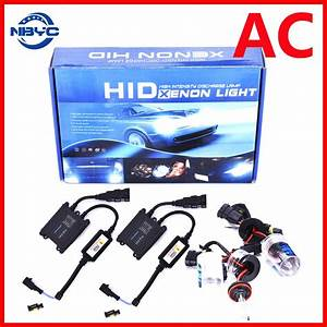 Car Light Super Bright 35w 55w Ac Xenon Hid Kit Slim