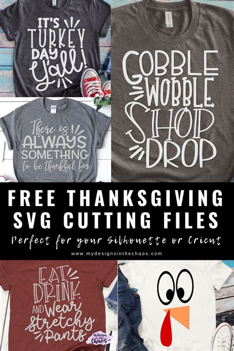 Thanksgiving is one of our favorite times of the year and we are celebrating it by expressing gratitude to our faithful customers with free svg download also, add your preferred font but at least we gave you a few ideas for team monikers. Free Thanksgiving SVG Files - My Designs In the Chaos