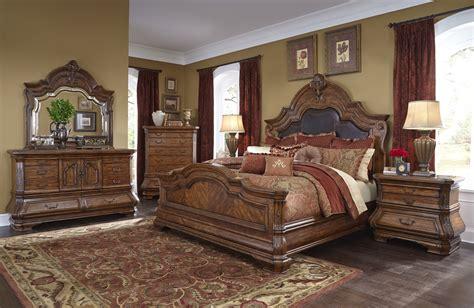 michael amini tuscano traditional luxury bedroom set
