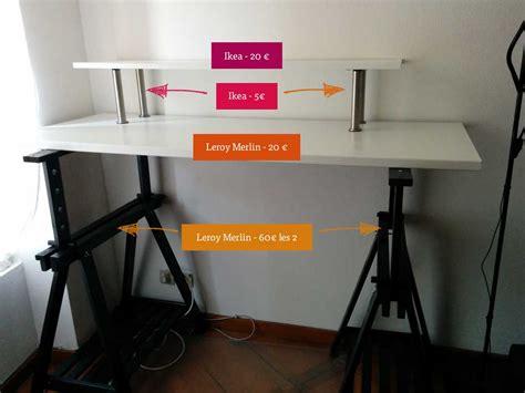 plan de travail cuisine leroy merlin mon bureau assis debout standing desk pour moins de 110