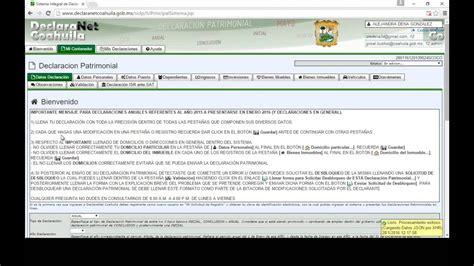 Declaración Patrimonial - YouTube