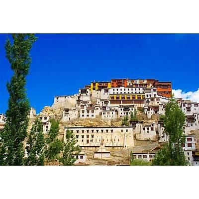 Thiksey monastery at Leh in Ladakh