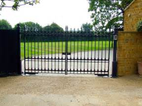 images of gates steel swing gates from agd systems gates and access control systems uk