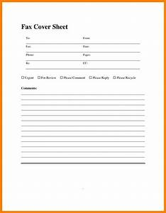8 sample fax cover sheet