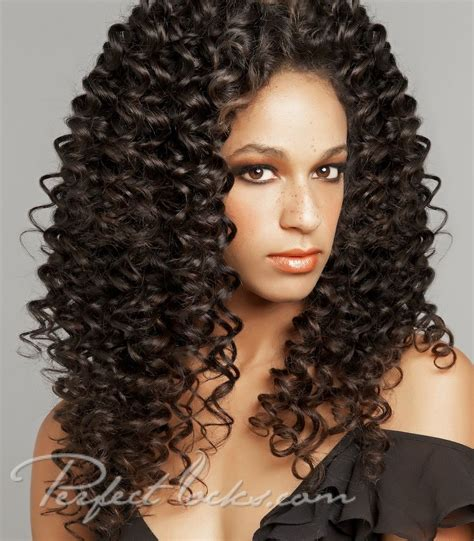 styles for permed black hair curly perm styles tight curly steam permed indian hair 9469